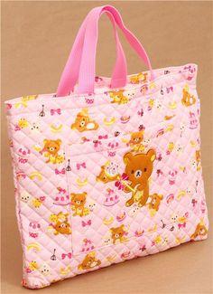 pink Rilakkuma sweets handbag San-X Japan