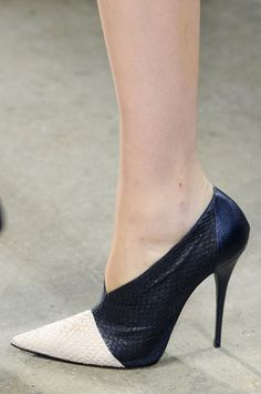 All the Scene-Stealing Shoes From New York's Fall 2013 Shows: Vera Wang Fall 2013  : Suno Fall 2103  : Narciso Rodriguez Fall 2013