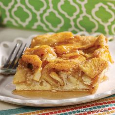 Gooseberry Patch Recipes: Baked Apple Pancake from 150 Recipes in a 13x9 Pan Cookbook