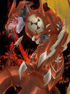 Digimon World Championship: Megidramon Digimon Adventure, Pokemon Vs Digimon, Pokemon Cards, Evil Goku, Digimon Wallpaper, Digimon Tamers, Digimon Digital Monsters, Cool Monsters, Arte Horror