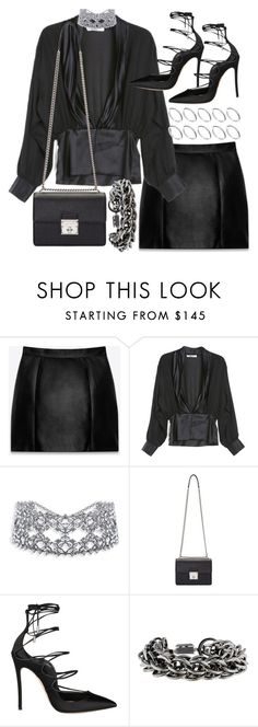 """""""Untitled #20644"""" by florencia95 ❤ liked on Polyvore featuring Yves Saint Laurent, Rodarte, Dolce&Gabbana, Dsquared2, Burberry and ASOS"""