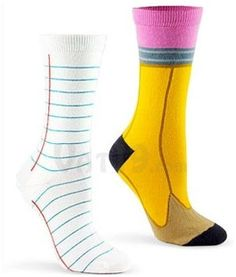 How cute are these socks! Enter for the chance to win a pair of socks from Fruit of the Loom at WomanFreebies. com