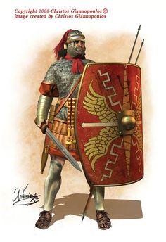 Roman tesserarius, I cent. AD.