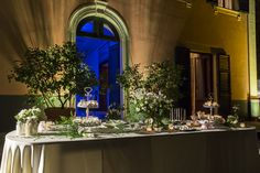 Il tavolo dei dolcetti e confetti #matrimonio