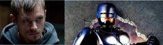 "Joel Kinnaman as Robocop. Love his Holder character on ""The Killing""."