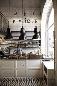Design | Fabrique Cafe: Stockholm - DustJacket Attic Blk & Wht