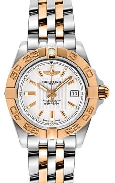 Also Known As Model # C71356 IN STOCK ! Brand new - Never Worn SPECIAL SALE PRICE - 51 % DISCOUNT Lifetime Warranty Included ($295 Value) Breitling Caliber 71 Polished Solid 18K Rose Gold with Steel Case & Pilot Bracelet Luxury Watches for Ladies   Majordor Luxury Gifts