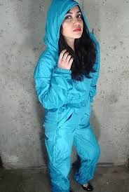 Image result for shiny nylon tracksuits
