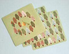 Norwegian Wood sticker - decor sticker - daily sticker - 4 sheets in