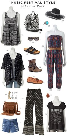 What to Pack for Music Festivals