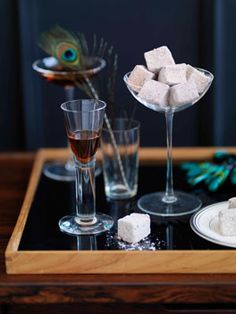 These would make perfect goodie bags: espresso marshmallows