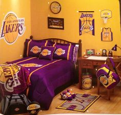 Another idea for a Laker fans room :-)