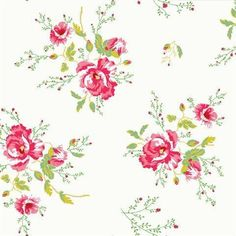 Winter Poppies Ivory wallpaper by Paper Moon