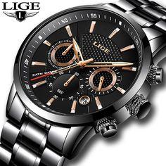 Mens watches To Luxury business Quartz Watch Men Military Sports Waterproof  Dress Wristwatch Luxusórák 4494d348ba