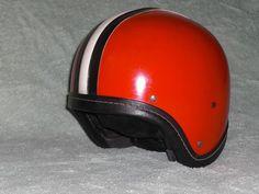 Kultiger DDR Mopedhelm Jethelm Halbschale Oldtimer moped helmet