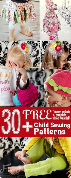 Free-Child-Clothing-Sewing-Patterns-and-Tutorials-on-fleece-fun-400-by-1000.jpg 400×1,000 pixels