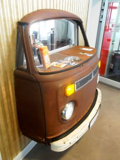 More furniture made with parts of cars that you will like for your houses - Home - Automotive Furniture & Deco - Autos Man Cave Furniture, Car Part Furniture, Automotive Furniture, Automotive Decor, Lounge Furniture, Furniture Making, Furniture Design, Vintage Industrial Furniture, Recycled Furniture