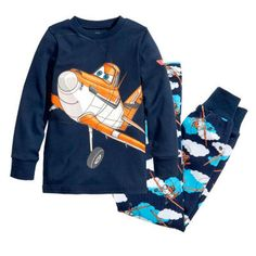 New Cartoon Kids Planes Pajamas Set Boys Long Sleeve Spring Autumn Sleepwear Clothing Baby Lovely Pyjamas Suit Children Costumes #Affiliate
