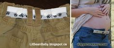 101+ Snap Uses cinch belt for kids or maternity wear