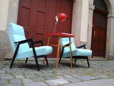 Svetle modre kresilka , chair , easy chair , blue , laxhk , 50' , furniture Furniture Design, Retro, Chair, Easy, Blue, Vintage, Home Decor, Homemade Home Decor, Rustic