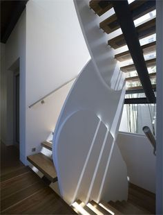 Staircase At The Bronre House By MPR Design Group