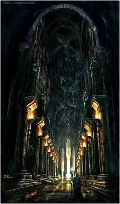 New Dark Art Inspiration Rpg Ideas Fantasy City, Fantasy Places, Fantasy Kunst, Sci Fi Fantasy, Fantasy World, Fantasy Artwork, Fantasy Concept Art, Creation Art, O Hobbit