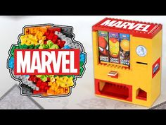 Lego Minifigures Vending Machine | Series 14 Monsters - YouTube