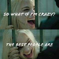 suicide squad, harley quinn, and crazy εικόνα