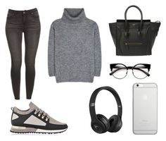 """Xxxx🎉"" by macie-miller-1 on Polyvore featuring Yves Saint Laurent, Beats by Dr. Dre and Native Union"