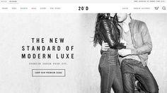 Новый тренд веб-дизайна: контурные кнопки
