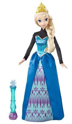 Disney Frozen Color Magic Fashion Doll — Elsa