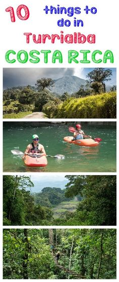 10 awesome things to do in Turrialba, Costa Rica. Great place for mountain biking, kayaking and rafting https://mytanfeet.com/activities/10-things-to-do-in-turrialba/