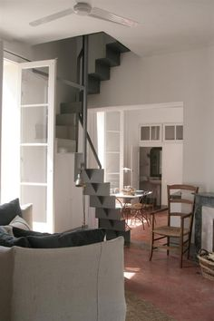 Great stairs: Via: One Bedroom Apartment Rental in Apt, Provence, Remodelista
