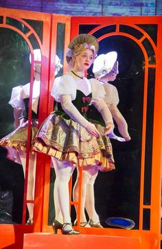 Carrie Hope Fletcher as Truly Scrumptious in Chitty Chitty Bang Bang on Tour Black Dress Halloween Costume, Belle Halloween Costumes, Sorella Vita Bridesmaid Dresses, Winter Bridesmaid Dresses, Tight Prom Dresses, Navy Prom Dresses, Broadway Costumes, Theatre Costumes, Musical Theatre