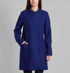 Manteau Richard Violet Blue Surface to Air en vente chez L'Exception