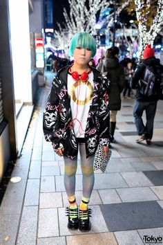 "16-year-old ""Watson"" in Harajuku"