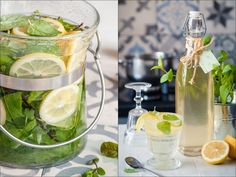 MÁTOVÝ SIRUP DO LETNÍCH LIMONÁD - Inspirace od decoDoma Pies Art, Chex Mix Recipes, Home Canning, Natural Healing, Easy Healthy Recipes, Preserves, Pickles, Cooking Tips, Cucumber