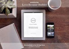 The Levo Resume Builder App | The Nenja