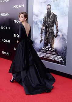Emma Watson Noah Premiere just the most beautiful woman ever