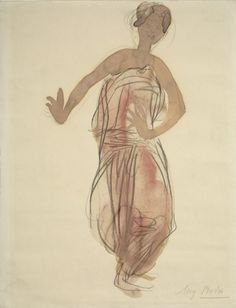 Auguste Rodin - Cambodian Dancer 2 order at discounted prices! Auguste Rodin, Rodin Drawing, Painting & Drawing, Gesture Drawing, Life Drawing, Cambodian Art, Kunst Online, Street Art, Dance Paintings