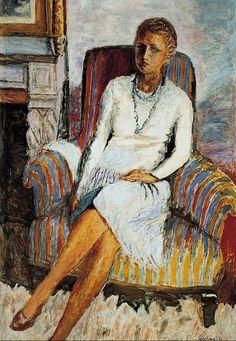 Portrait of Leila Claude Anet,1930 / Pierre Bonnard