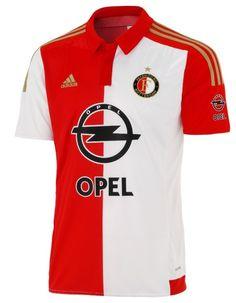 Feyenoord Rotterdam Home Shirt 2015-2016 Adidas