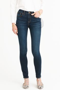 j.crew high rise jeans