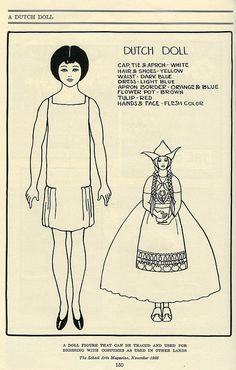 SAM_Dutch paper doll_tatteredandlost | Flickr - Photo Sharing!