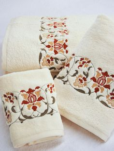 1000 Images About Custom Embroidered Towels On Pinterest