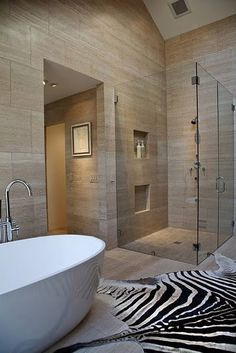 Unusual bathroom but I love that tub!