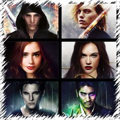The end is the beginning. #COHF. City of Heavenly Fire. Sebastian, Jace, Clary, Isabelle, , Alec and Magnus.