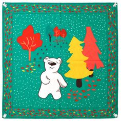 Butterbear Knot-Wrap: Beary cool knot wrap that can be used again and again as gift wrap, or as an accessory!