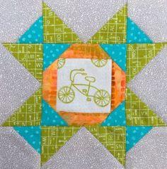 The Splendid Sampler - Block 78 Jersey designed by Carrie Nelson