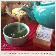 @Regrann from @embellecethe - ¡Buenaaaas!  Este ⏪Té Verde con Nubecillas de Mazapán⏩ está delicioso! Me transporta a la Navidad, al calor del hogar... ¡mmm...!